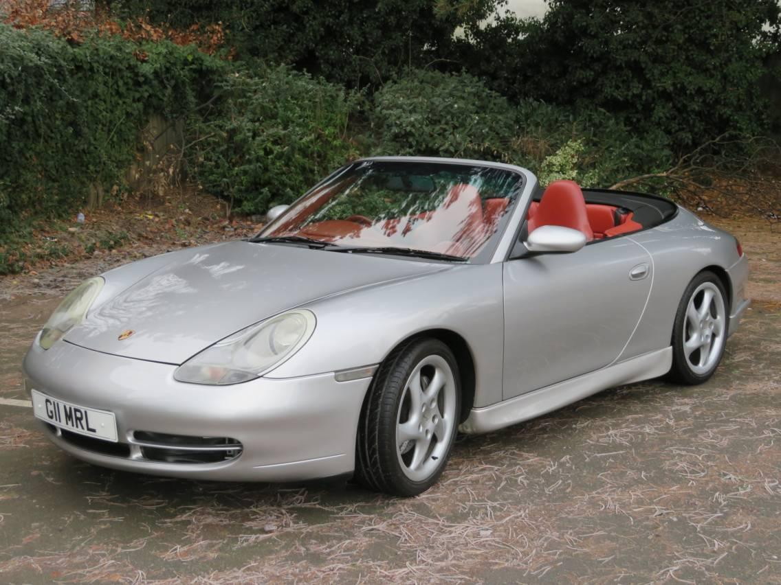 PORSCHE 911 (996) Carrera 4  3.4 Convertible