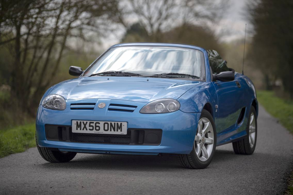 MG TF 115 - only 8,000 miles
